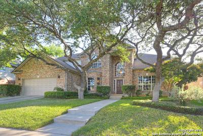 San Antonio Single Family Home New: 18606 Eagle Ford