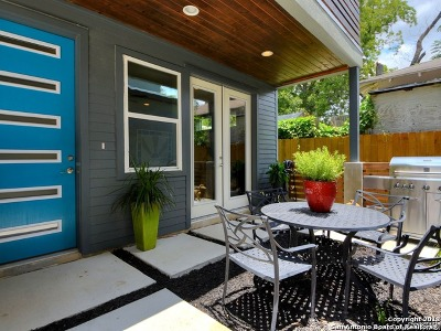 San Antonio Single Family Home New: 615 Fulton Ave #3