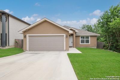 San Antonio Single Family Home New: 8206 Moody Cavern
