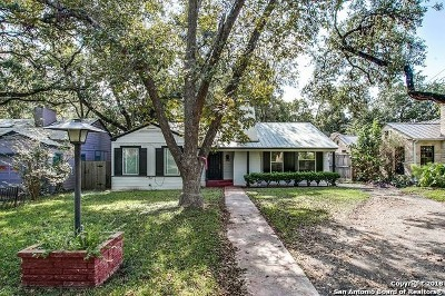 Alamo Heights Single Family Home New: 236 Tuxedo Ave