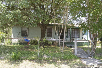 San Antonio Single Family Home Back on Market: 1103 Olive St