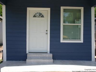 San Antonio Single Family Home New: 831 Green St