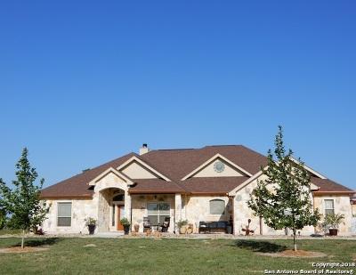 La Vernia Single Family Home New: 167 Triple Bend
