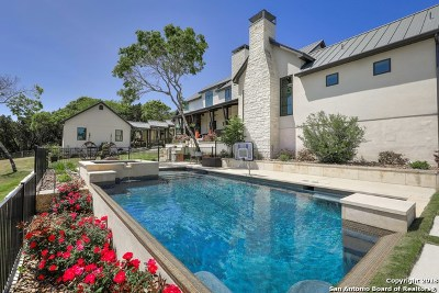 Boerne Single Family Home New: 124 Stage Springs