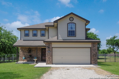 Bexar County Single Family Home New: 4407 Becker Field