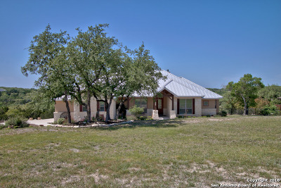 Canyon Lake Single Family Home New: 2373 Comal Springs