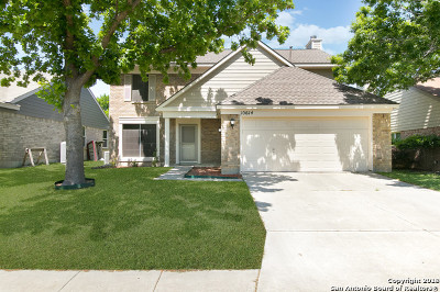 Bexar County Single Family Home New: 10614 Mustang Rdg