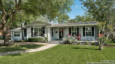 San Antonio Single Family Home New: 205 Robinhood Pl