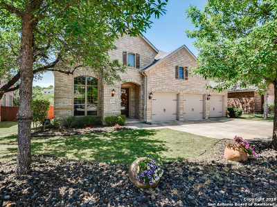 Cibolo Canyons Single Family Home New: 23139 Treemont Park