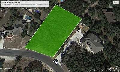San Antonio Residential Lots & Land New: 25918 Silver Cloud Dr