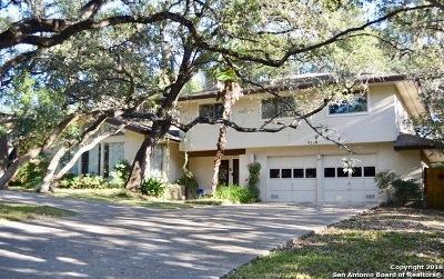 San Antonio Single Family Home New: 4218 Bluemel Rd