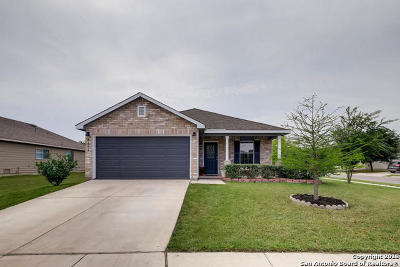 Selma Single Family Home New: 8102 Running Hollow