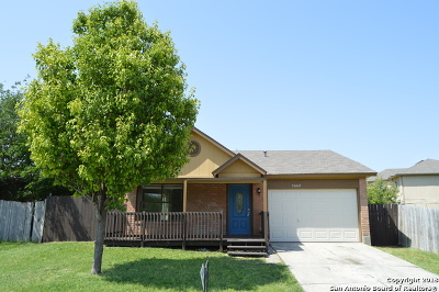 Bexar County Single Family Home New: 5662 Summer Fest Dr