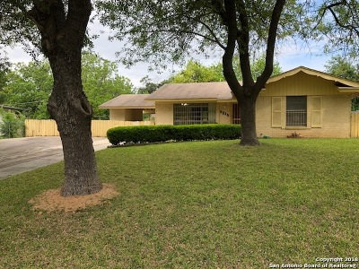 San Antonio Single Family Home New: 5215 Colebrook Dr