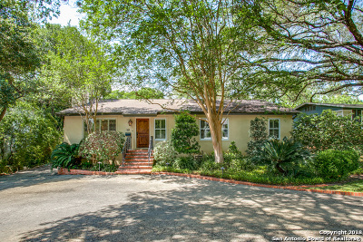 San Antonio Single Family Home For Sale: 111 Morningside Dr