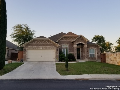 San Antonio Single Family Home New: 12503 Old Stillwater