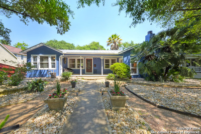 Alamo Heights Single Family Home New: 215 E Edgewood Pl
