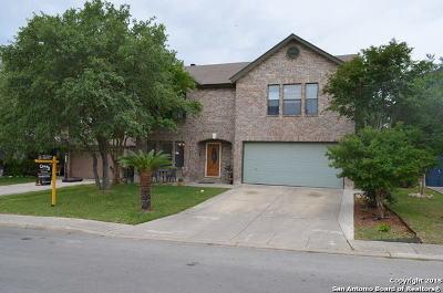 Bexar County Single Family Home New: 447 Irongate Ridge