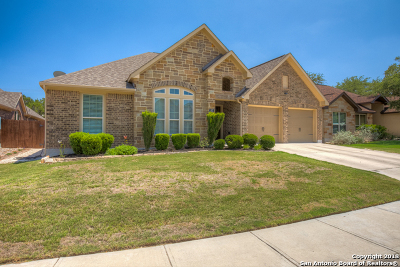 New Braunfels Single Family Home Price Change: 483 Wilderness Way