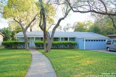 San Antonio Single Family Home New: 1032 Ivy Ln