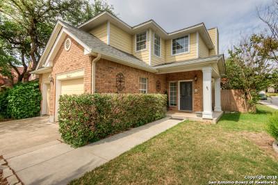 San Antonio Single Family Home New: 20627 Gathering Oak