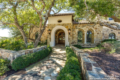 Boerne TX Single Family Home For Sale: $2,997,000