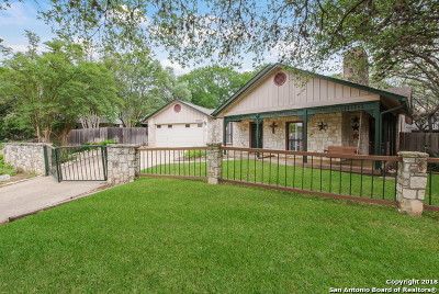San Antonio Single Family Home New: 16938 Hidden Oak Woods