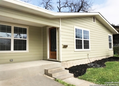 San Antonio Single Family Home New: 507 Mebane St