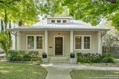 Alamo Heights Single Family Home New: 343 Wildrose Ave
