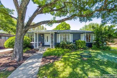 San Antonio Single Family Home New: 125 Hillview Dr