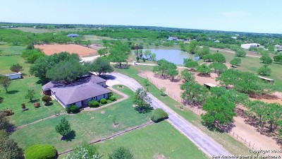 Guadalupe County Single Family Home New: 3520 Fm 467