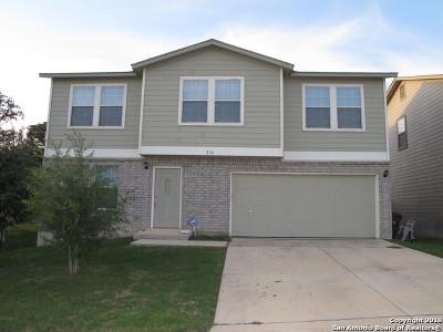 Cibolo Single Family Home New: 216 Hinge Creek