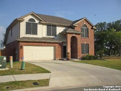 Cibolo Single Family Home New: 2600 Cloverbrook Ln
