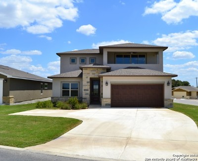 New Braunfels Single Family Home New: 837 Long Creek Blvd