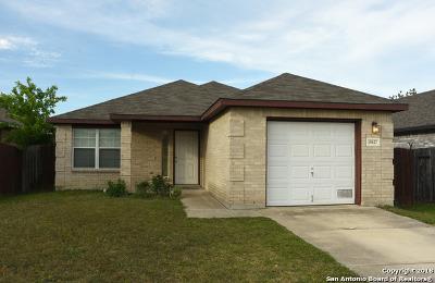 San Antonio Single Family Home New: 10627 Shaenmeadow