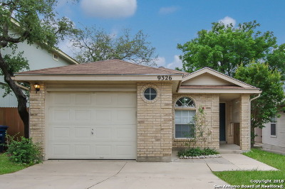 San Antonio Single Family Home New: 9326 Swans Xing
