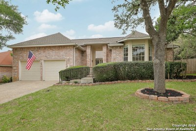 San Antonio Single Family Home New: 18022 Crystal Knoll