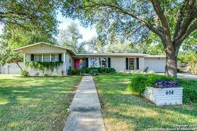 San Antonio Single Family Home Back on Market: 614 Wyndale