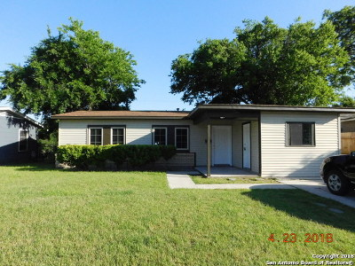 San Antonio Single Family Home Back on Market: 174 Dafoste Ave
