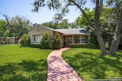 San Antonio TX Single Family Home New: $635,000