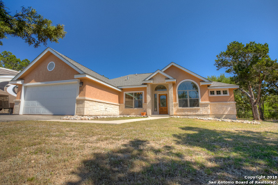 Canyon Lake Single Family Home New: 829 Flaman Rd