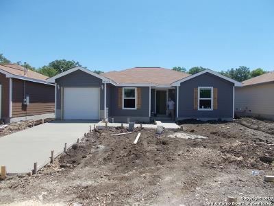 San Antonio TX Single Family Home New: $165,699