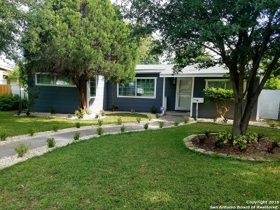 San Antonio Single Family Home Back on Market: 150 Lilla Jean Dr