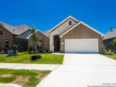 Boerne Single Family Home Price Change: 126 Destiny Drive