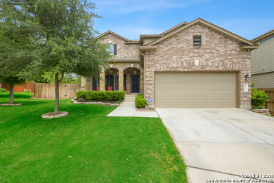 Helotes Single Family Home New: 10615 Clover Canyon