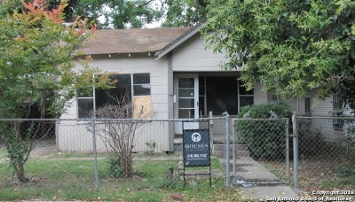 San Antonio Single Family Home New: 423 Mercedes St