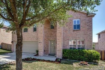 San Antonio Single Family Home New: 4610 Manitou Bay