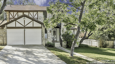 San Antonio Single Family Home New: 8510 Heraldry St