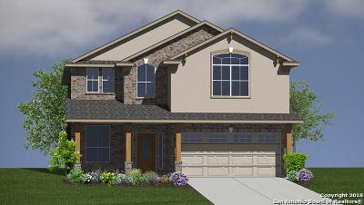 San Antonio Single Family Home New: 13223 Panhandle Cove