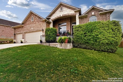 San Antonio Single Family Home New: 822 Synergy Hill